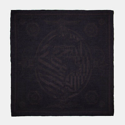 RRP €60 DIESEL SCOLUSSY Patterned Lightweight Square Scarf One Size