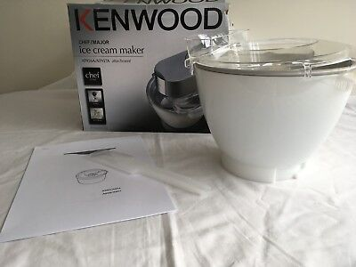 Kenwood Chef Ice Cream Maker ATTACHMENT AT956A/AT957A Unused.