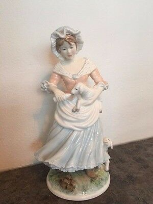 Royal Worcester 'The Shepherdess' Figurine Limited Edition 492/9500 Country Ways