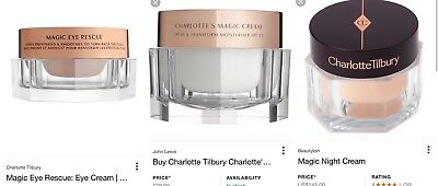 x3 Brand New Charlotte Tilbury Cream's with gift wrapping and box