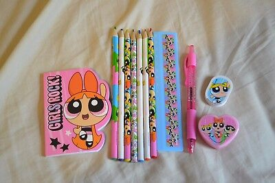Powerpuff girls stationery set