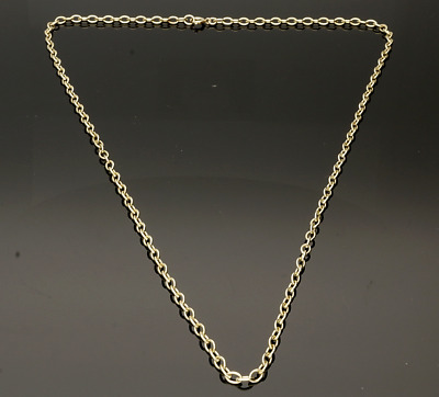 9Ct Yellow Gold Belcher Neckchain