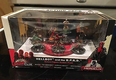 Heroclix Horrorclix Hellboy And The Bprd - 7 Figure Action Pack - New In Package