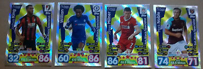 17 18 Match Attax All 4 Set Piece Specialist Cards Topps 2017/2018 All Listed