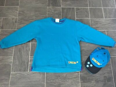 Beavers Jumper Sweatshirt Size 28 Inches  & Official Cap ~ Good Condition