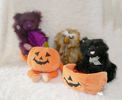 Charlie Bears Halloween 2017 Collection - Choose Your Favorite