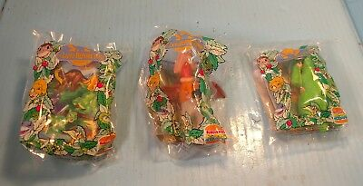 The Land Before Time Burger King Kid's Club Toy three of six New in Package