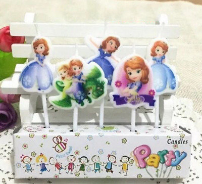 SOFIA THE FIRST Novelty Birthday Cake Candle Candles Topper Figure