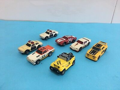 LOTE 7 COCHES TCR IDEAL TOY IBER SLOT CAR Tipo Primera Generaciln Exin