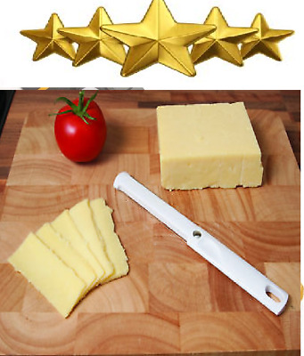 Cheese Slicer creates thick and thin slices fast