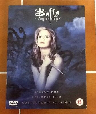 Buffy the Slayer Season one DVD Box Set Collector's  Edition