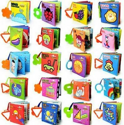 GR AU Intelligence development Cloth Cognize Book Educational Toy for Kid Baby