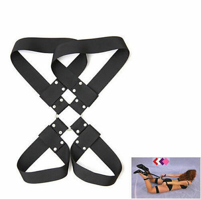 2016 New Wrist To Ankle Cuff Restraint Fetish Bondage Party Strap Set Adult toy