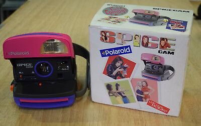 SPICE GIRLS POLAROID Spice Cam CAMERA 1990's 1st Edition COLLECTABLE Boxed.