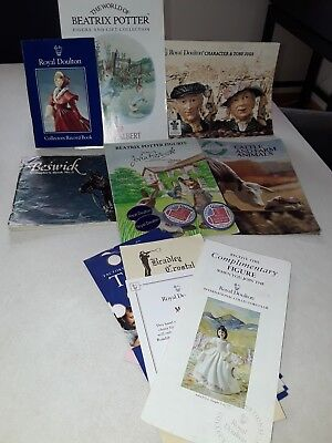 Royal Doulton - Collection Of Vintage Brochures Detailing Products
