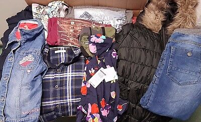 1 x LARGE BOX (95 ITEMS) OF CHILDREN'S USED CLOTHING D5
