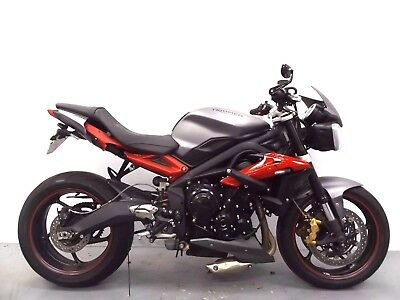 2016 Triumph Street Triple R Abs B1 Damaged Spares Or Repair *no Reserve* 13145