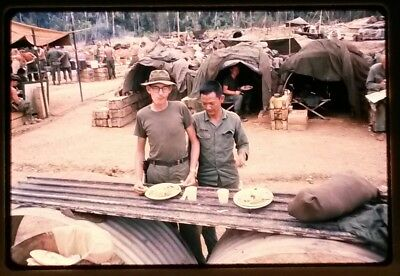 Vietnam Slide- 2 Tour Army GI with 18TH ENGINEER BRIGADE collection 1966-70 #12