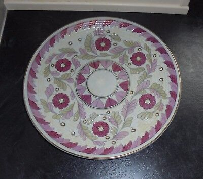 """Palermo"" Charger/Wall Plaque By Crown Ducal/A G R/Charlotte Rhead c.1950's"