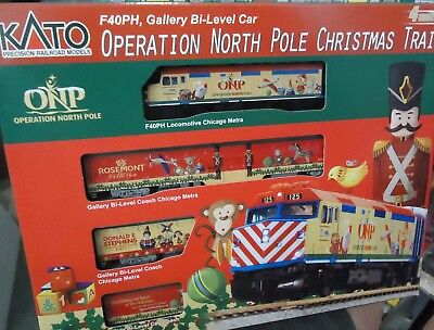 Kato - N Scale - Operation North Pole Christmas Train Set (2015) Model: 106-2015