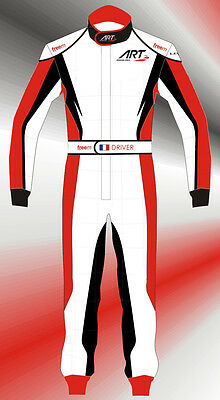 NEW FreeMinds Karting Race Suit Italian Made Sizes 48,50