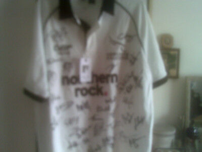 Newcastle Falcons Signed Rugby Shirt