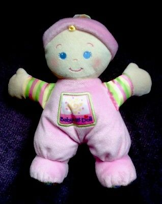 fisher price my first soft doll in vgc