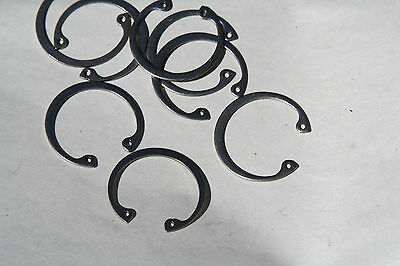 5 Pieces Your Choice  1/4  Thru 15/16   Internal Retaining Rings Steel
