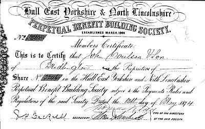 Hull East Yorkshire & North Lincolnshire Perpetual Benefit Society Share