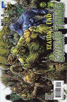 SWAMP THING   40 .  (5th Series)....SEASON'S END!...NM-...2015......Bargain!