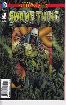 SWAMP THING   FUTURES END   1 ....3D COVER!....NM-...2014......Bargain!