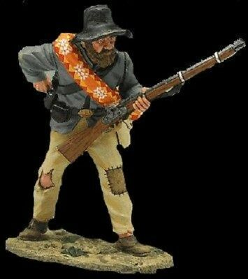 King And Country Civil War  Rebel Standing Loading Cw023  ( Reduced To Clear )
