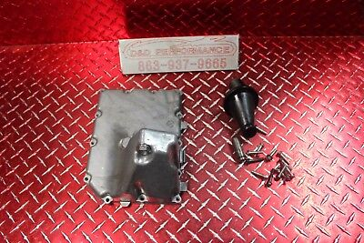 06 -16 Gsxr 600 750 Oem Oil Pan W Pick Up & Bolts No Leaks Has Marks Sdm