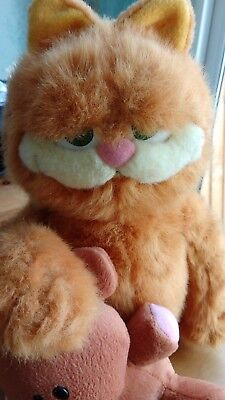 Large Garfield With Pooky Soft/Plush Toy