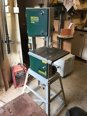 Record Power Bandsaw BS250 Woodworking Tool Workshop 240v