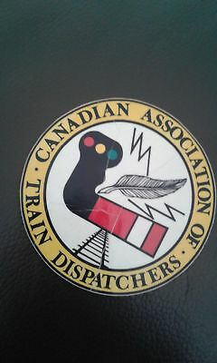 Vintage Decal Canadian Association Of Train Dispatchers