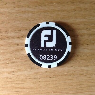 Footjoy Poker Chip Ball Marker