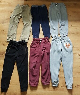 Boys Trousers Joggers Bundle Age 7-8 Years