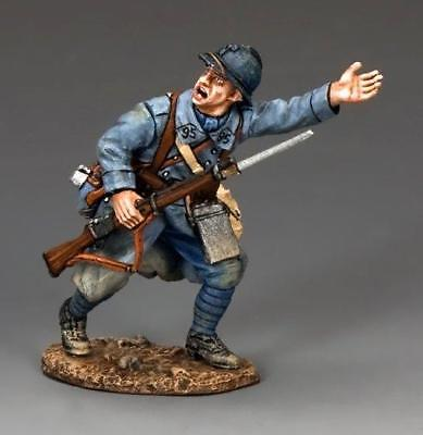 """KING AND COUNTRY WW1 """" French SOLDIER """"LETS GO """"  FW155, (REDUCED )"""