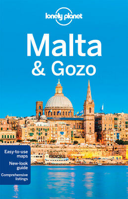 Lonely Planet MALTA GOZO Travel Guide BRAND NEW 9781743215029