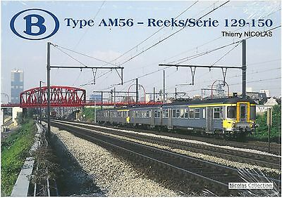 NicolasCollection 978-2-930748-26-9 Buch SNCB NMBS Type AM56 Série129-150 NeuOVP
