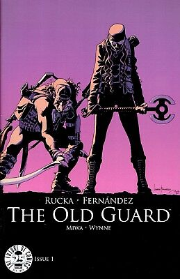 The Old Guard #1 Image 25Th Blind Box Variant Cover