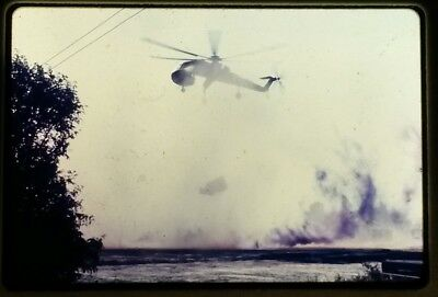 Vietnam Slide- 2 Tour Army GI with 18TH ENGINEER BRIGADE collection 1966-70 #21
