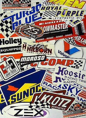 Racing Decals Sticker Set 26+ Grab Bag New In Pairs for Tool Box Garage Mancave