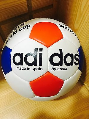 Official ADIDAS Match Ball Of FIFA World Cup Leather Football..