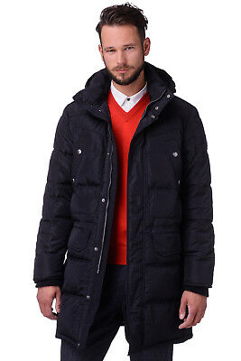 RRP €504 CERRUTI 18CRR81 Size 54 / XL Men's Parka Jacket With Detachable Hood