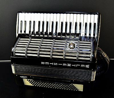 CASSOTTO TOP GERMAN ACCORDION WELTMEISTER S4 -120 bass, 16 registers (11+5 sw.)!