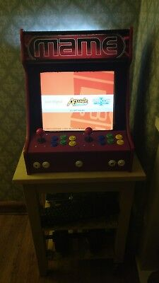 bartop arcade machine with over 5500 games