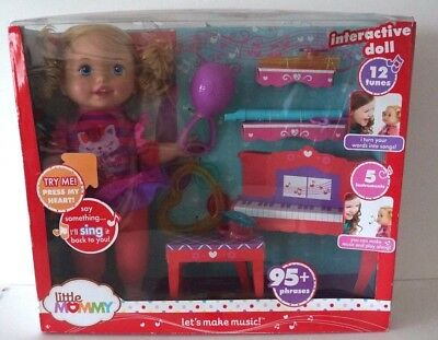 Little Mommy Lets Make Music Doll 5 Instruments Interactive Doll Christmas Girl