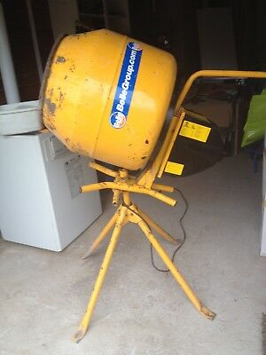 """Belle 130 Electric 240v Concrete Cement Mixer """"COLLECT ONLY"""""""